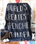 World's Greatest Frenchie Grandpa - Woven Blanket