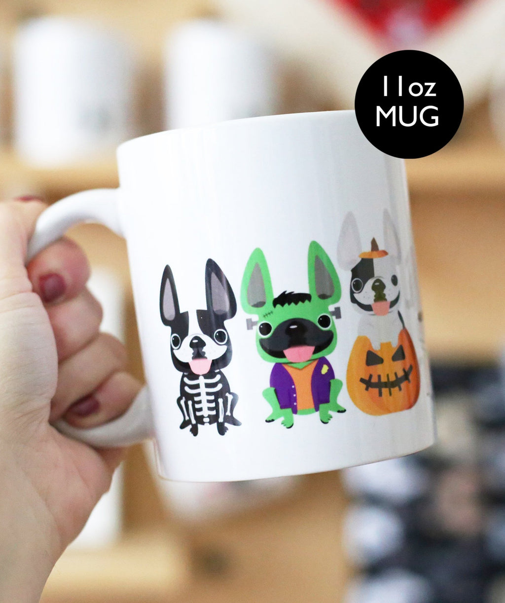 Monster Mash - French Bulldog Halloween Coffee Mug - 11oz