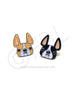French Bulldog Enamel Pin - Honey Pied