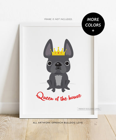 Queen of the House - Custom Print 8x10