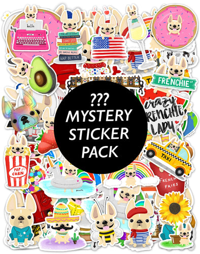 MYSTERY STICKER PACK - Waterproof Vinyl Stickers