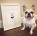 Play On - Art Print - French Bulldog Love - 2