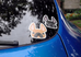 Black Pied / French Bulldog Mini Sticker - French Bulldog Love - 3