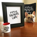 Crazy Frenchie Lady - Custom Print 8x10 - French Bulldog Love - 2