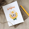 You Are My Sunshine French Bulldog Greeting Card - French Bulldog Love - 3