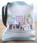South Beach Frenchies French Bulldog Tote Bag - French Bulldog Love - 3