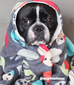 Polka Dog French Bulldog Fleece Blanket - Small - French Bulldog Love - 5