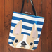 Honey Pied / Striped French Bulldog Tote Bag - French Bulldog Love - 3