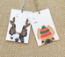 Festive Frenchies Gift Tag Set - French Bulldog Holiday Tags - French Bulldog Love - 21