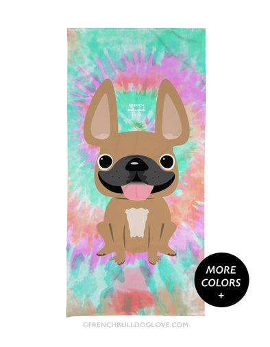 Tie Dye Beach Towel - Starburst