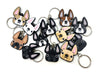 Frenchie Face Mini Keychain / Black - French Bulldog Love - 3