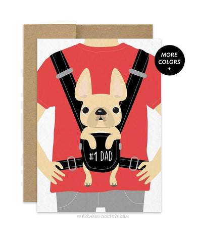Baby Daddy - Card - French Bulldog Love