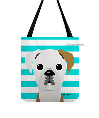 Boxer Tote Bag - Tan Ear