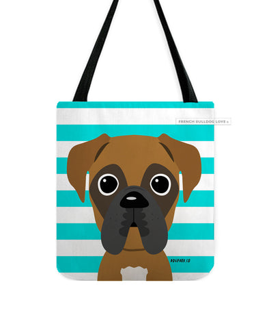 Boxer Tote Bag - Fawn