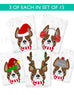 Festive Frenchies 15 Card Holiday Box Set - French Bulldog Love - 6