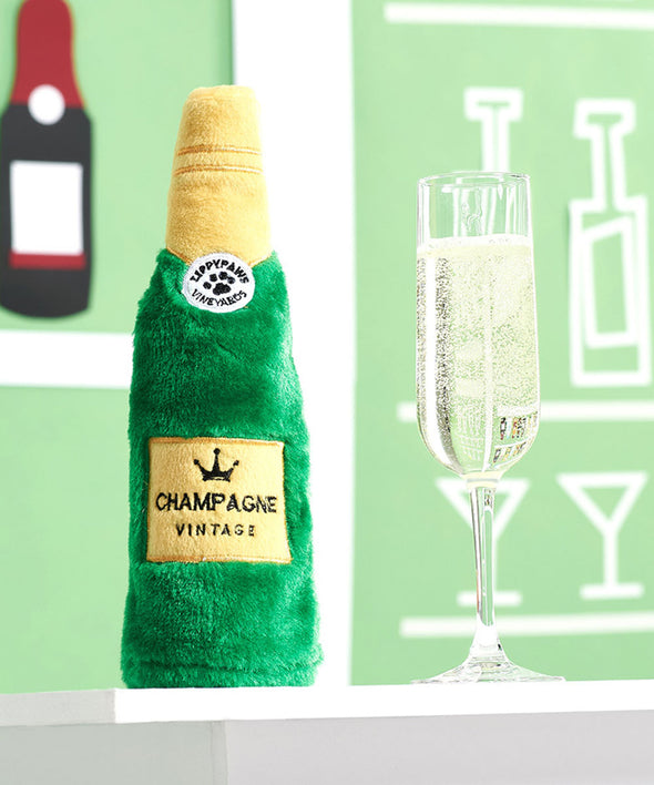 Champagne Bottle Toy by ZippyPaws