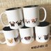 Five Little Bulldogs - Bulldog Coffee Mug