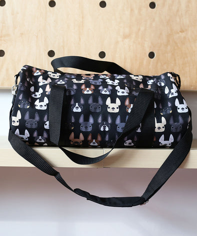 French Bulldog Duffel Bag by French Bulldog Love - 2 Sizes Available
