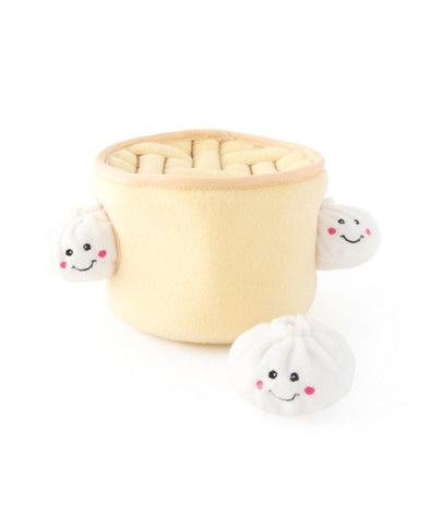 Soup Dumplings Dog Toy by ZippyPaws