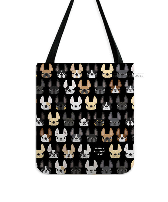 Frenchie Friends French Bulldog Tote Bag