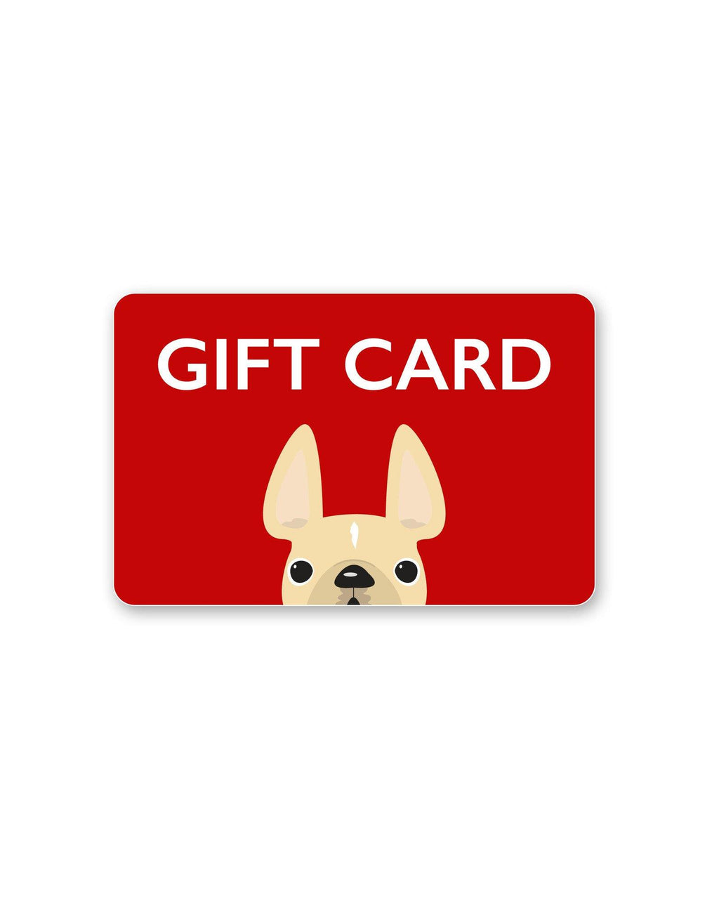 French Bulldog Love Gift Card