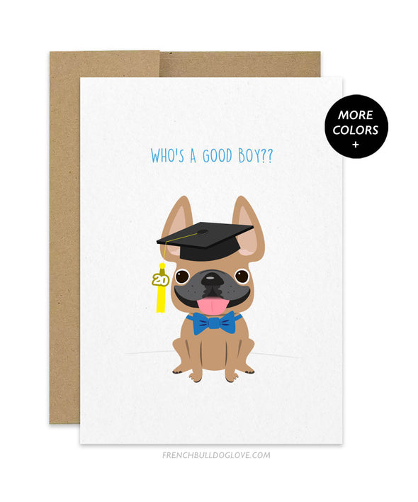 Good Boy - Graduation Card