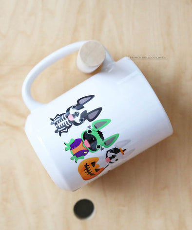Monster Mash - French Bulldog Halloween Coffee Mug - 15oz