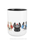 Cozy Frenchies - French Bulldog Coffee Mug 2 SIZES - French Bulldog Love - 2