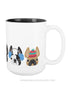 Cozy Frenchies - French Bulldog Coffee Mug 2 SIZES - French Bulldog Love - 3