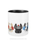 Cozy Frenchies - French Bulldog Coffee Mug 2 SIZES - French Bulldog Love - 5