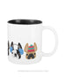 Cozy Frenchies - French Bulldog Coffee Mug 2 SIZES - French Bulldog Love - 6