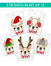 Festive Frenchies 15 Card Holiday Box Set - French Bulldog Love - 13
