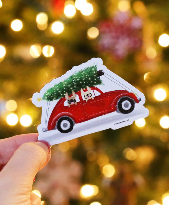 Holiday Buggy Magnet