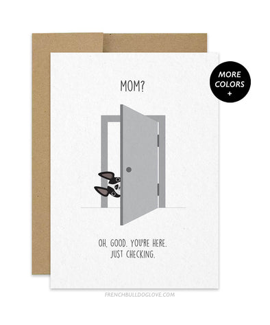 Just Checking - Mother's Day Card