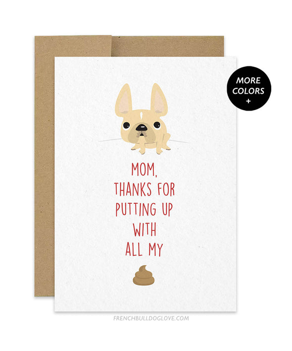 Mom Thanks - Card