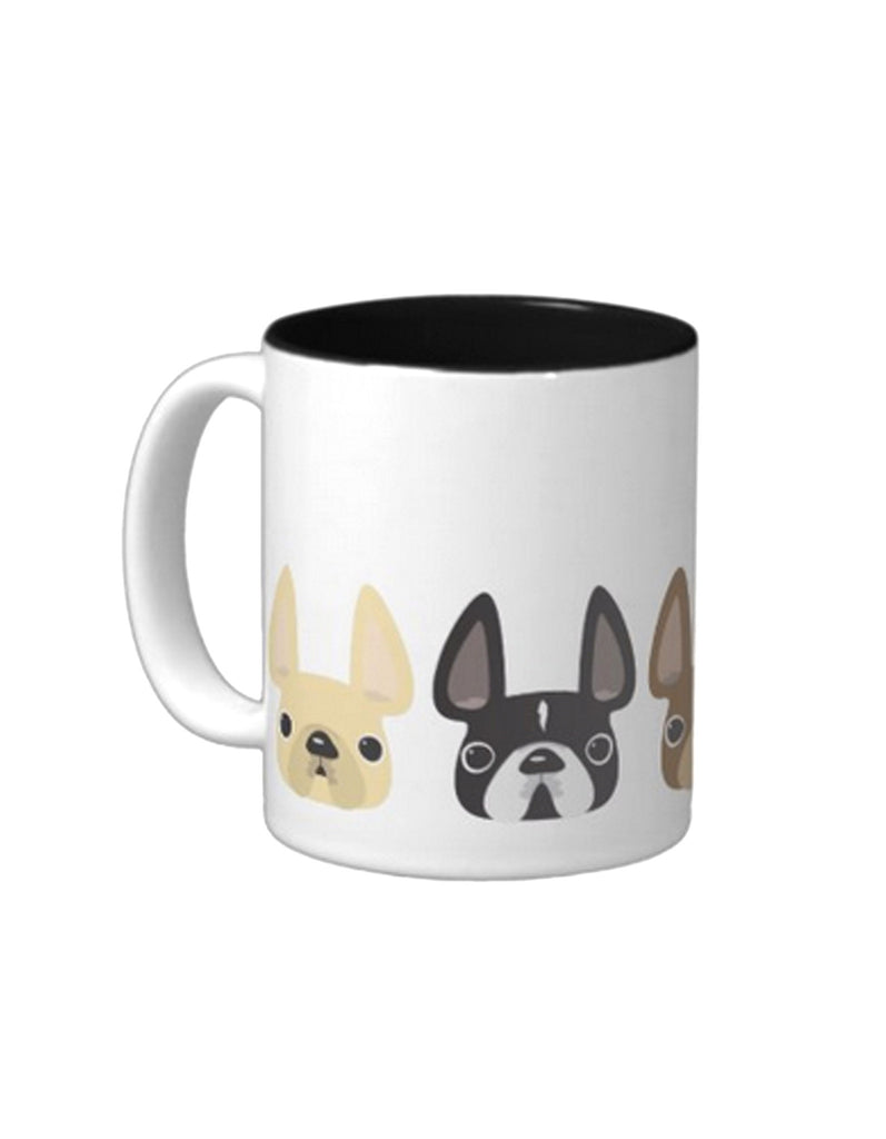 Another Five Little Frenchies - French Bulldog Coffee Mug - French Bulldog Love - 1
