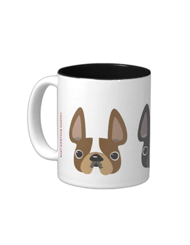 3 Big Frenchies - French Bulldog Mug - French Bulldog Love - 1