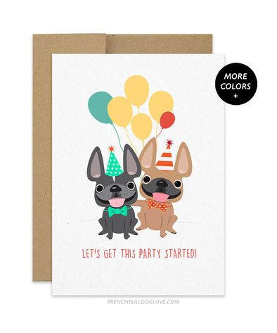 Let's Get This Party Started - Birthday Card