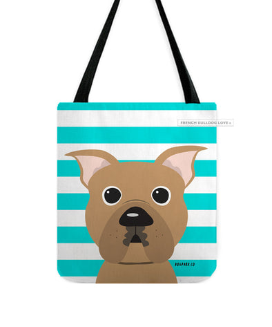 Pit Bull Tote Bag - Fawn