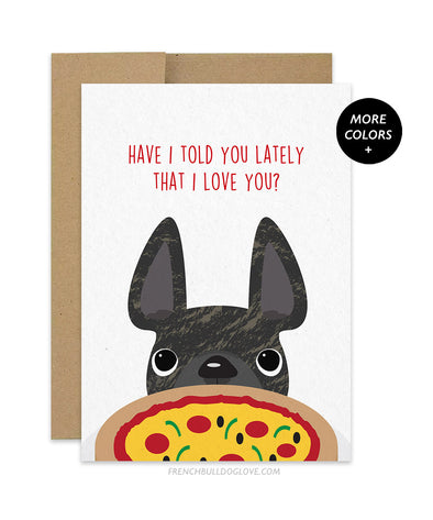Pizza Love - Card