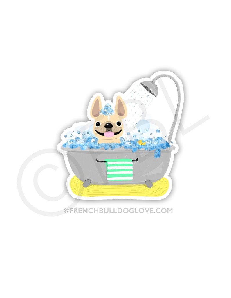 #100DAYPROJECT 20/100 - BUBBLE BATH VINYL STICKER