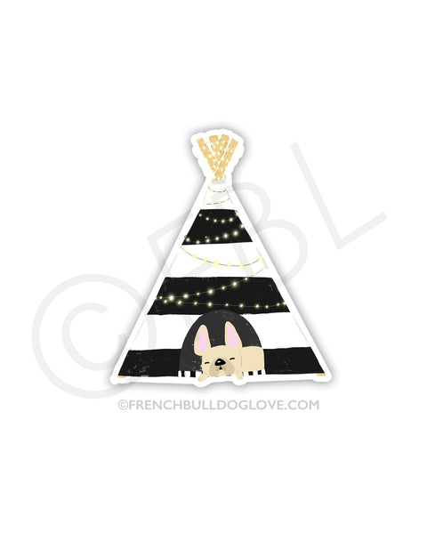 #100DAYPROJECT 15/100 - TEEPEE VINYL STICKER