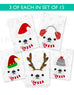 Festive Frenchies 15 Card Holiday Box Set - French Bulldog Love - 15