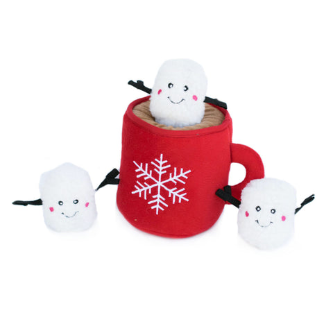 Holiday Burrow Hot Cocoa Toy by Zippy Paws