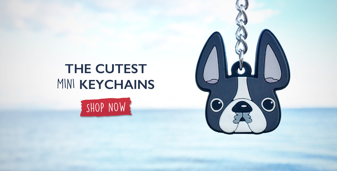 French Bulldog Mini Keychains