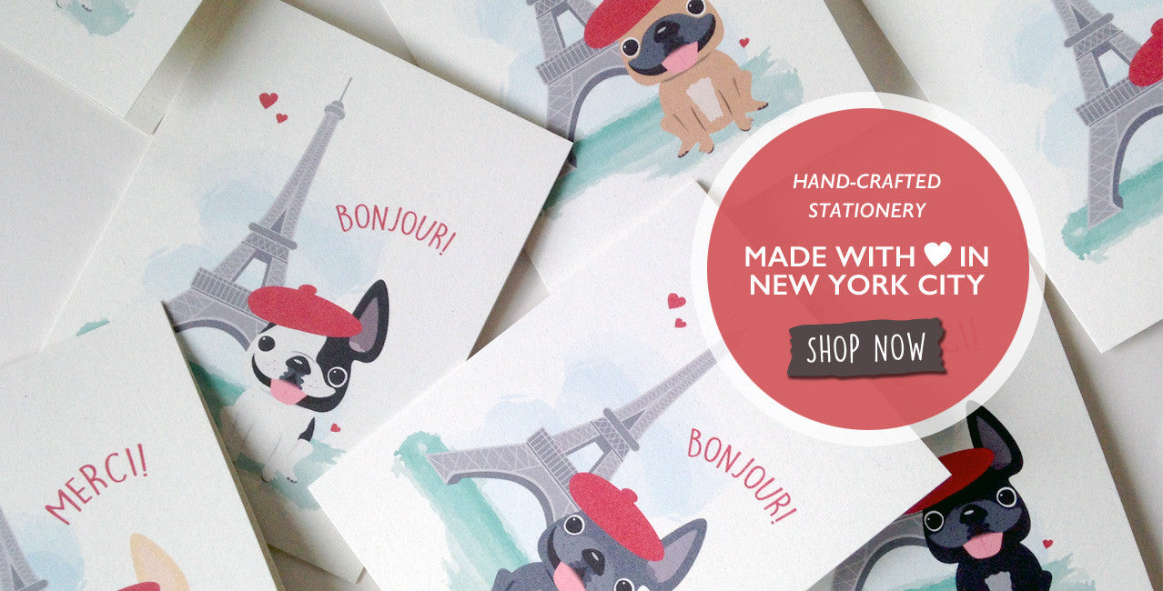 French Bulldog Stickers