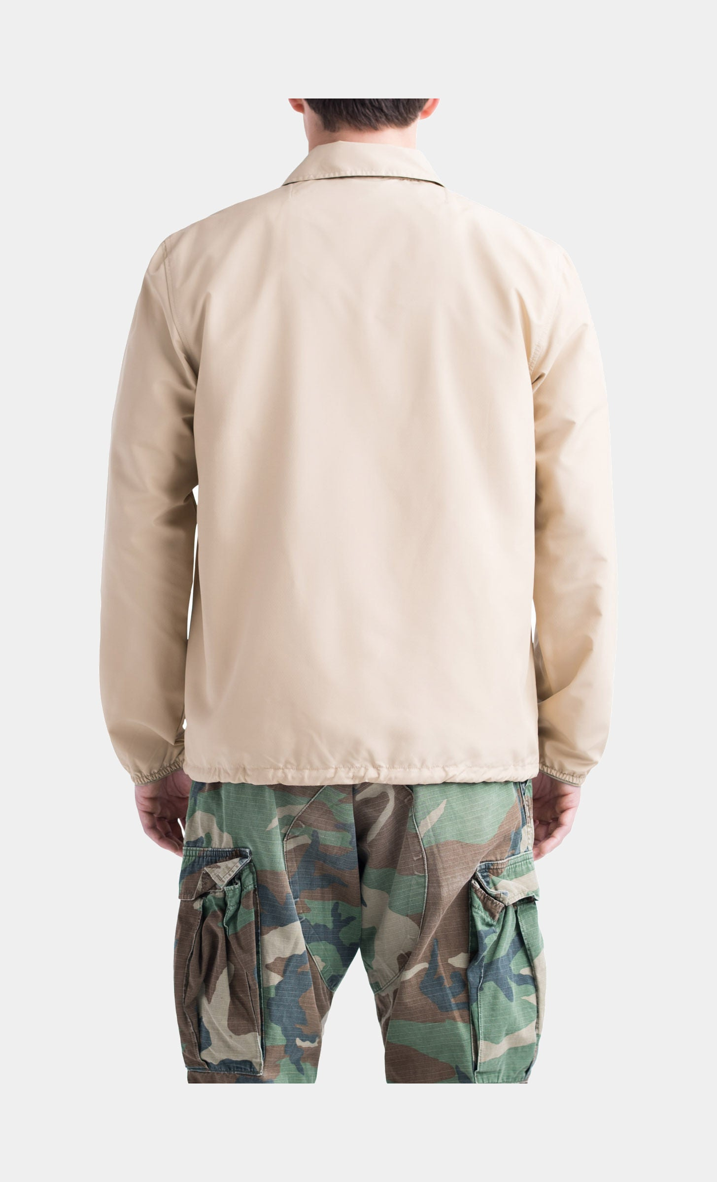 Voyage Coach Mens Jacket (Tan Brown)