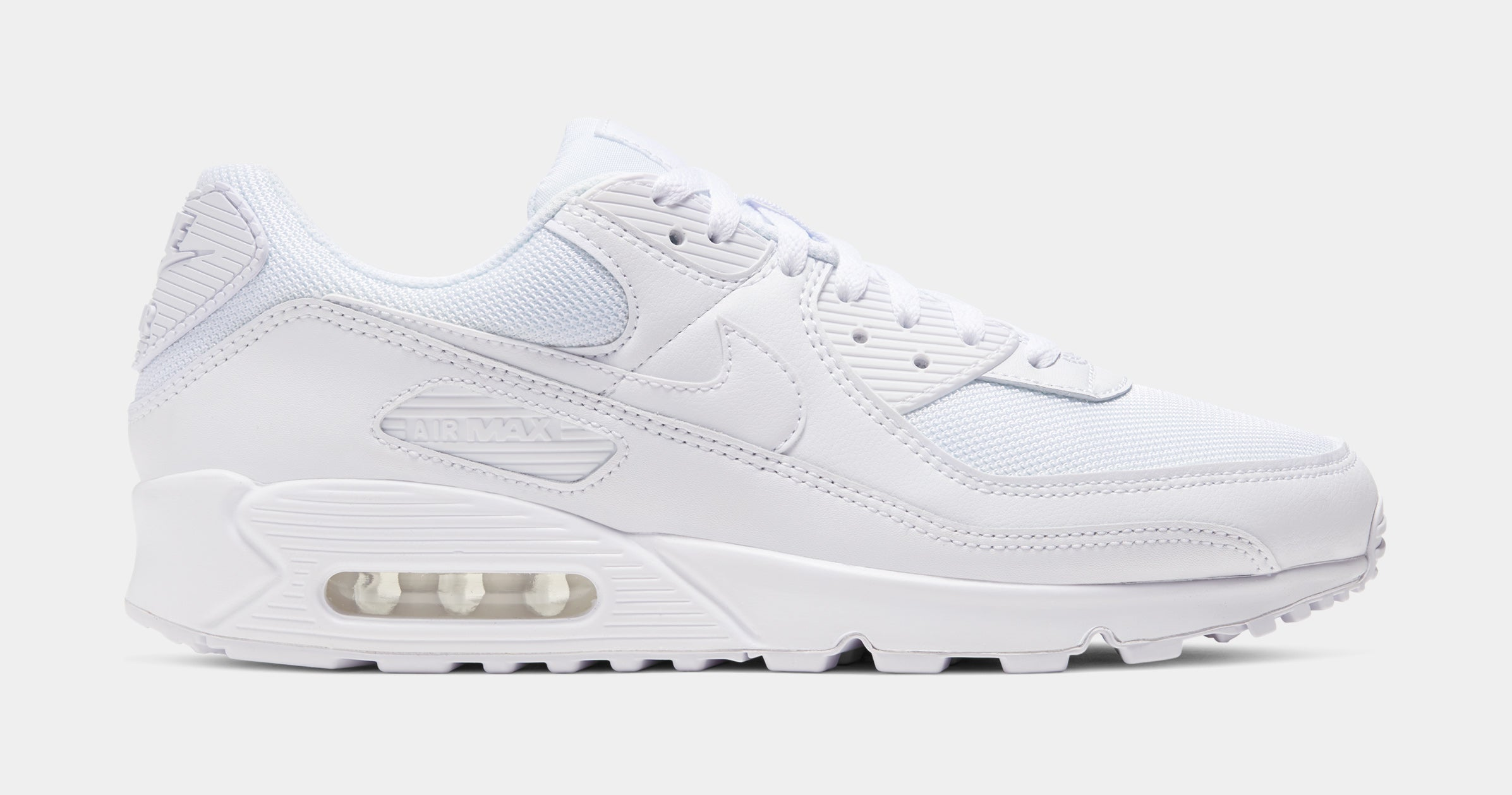 Air Max 90 Tonal Pack Mens Lifestyle Shoe (Triple White)