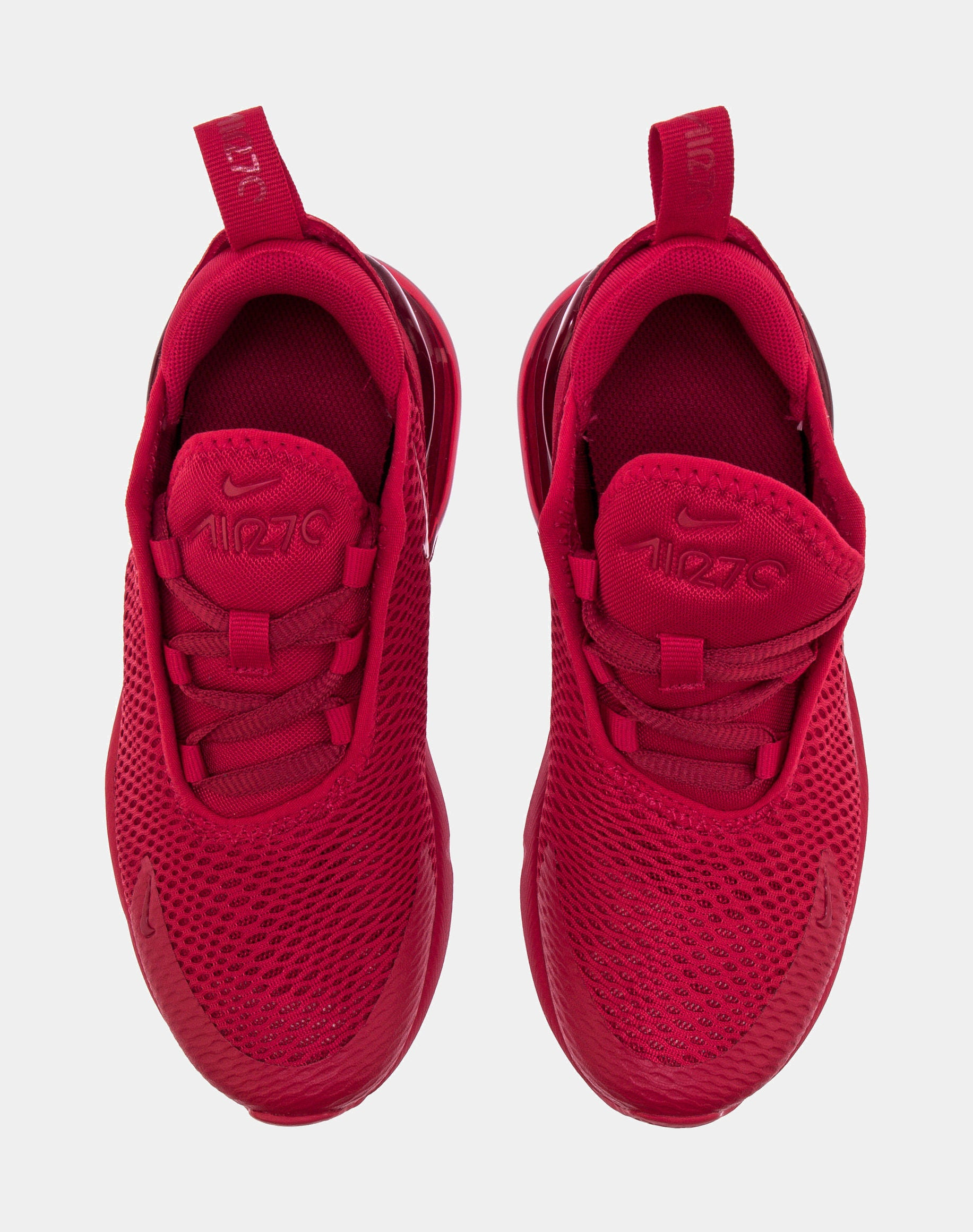 Air Max 270 Preschool Running Shoe (Red)