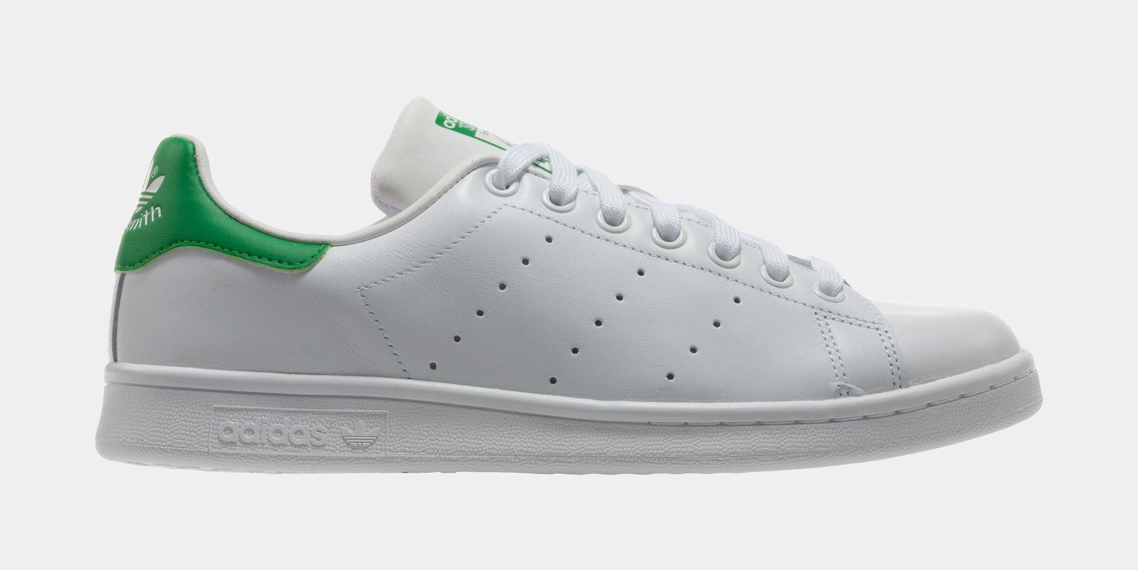 Stan Smith Original Mens Lifestyle Shoe (White/Fairway Green)